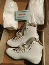 Vintage Harlick - San Carlos Figure Skates - Size 6 Aa { Boots Only } / New
