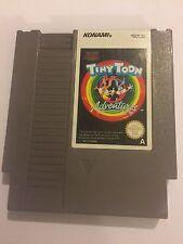 Nintendo Entertainment System Nes PAL KONAMI Cartucho De Juego Tiny Toon Adventures