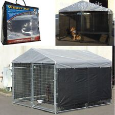 Dog Pet House Cover Cloth For Cage Kennel Large Outdoor Shade Shelter Cover Only