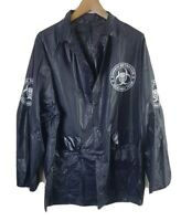 Zombie Outbreak Response Team Mens Jacket XL Extra Large Blue Waterproof BNWT