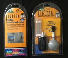 NEW Deluxe camera/Photo/Video 5 Piece Care Kit & Univ. Screen Protectors SEALED