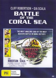 Battle Of the Coral Sea -  Cliff Robertson New and Sealed DVD
