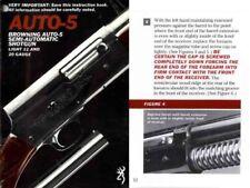 Browning c1984 Auto-5 Semi Auto Shotgun Manual
