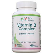 VITAMINA B COMPLESSO COMPLEX 60 compresse VEGAN B1, B2, B3, B5, B6, B7, B9, B12