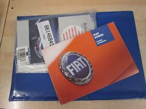 FIAT SCUDO 2004-2009 OWNERS MANUAL HANDBOOK  AND WALLET