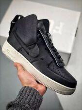 Nike PSNY X Air Force 1 High UK 8 / 10 Eu42.5 Black Sail Unisex RRP£200.00 🚀