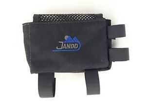 TWO JANDD Bicycle Stem Bags, NEW