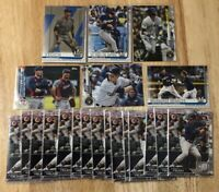 Christian Yelich (x90) Lot Milwaukee Brewers MVP 2019/2020 Topps/Bowman 2019 ASG