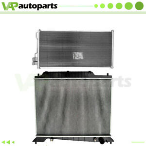 For 03-04 Lincoln Navigator 5.4L Aluminium Rdiator & Condenser Cooling Assembly