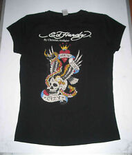 T-SHIRTS NOIR ED HARDY TAILLE 38 BY CHRISTIAN AUDIGIER