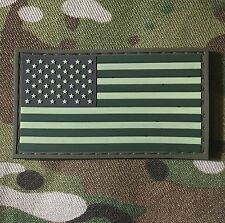 USA US FLAG RUBBER PVC ISAF ARMY MORALE MILSPEC MULTICAM PATCH VELCRO® BRAND