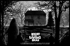 Night of the Living Dead Poster - Variant - Kilian Eng - Limited Edition of 150