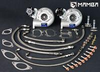 MAMBA TD05H-18G GTX TWIN TURBO bolt-on kit SUITS NISSAN GTR RB26 R32 R33 R34 GTR