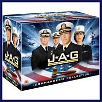 JAG COMPLETE SERIES 1-10 COMMANDER'S COLLECTION DVD BOX SET 54 DISCS BRAND NEW