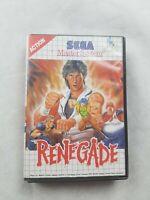 Renegade Sega Master System