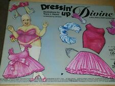 Dressin up Divine- Cut Out Doll with clothes/ magnetic/ Tracy Hayes, 1994