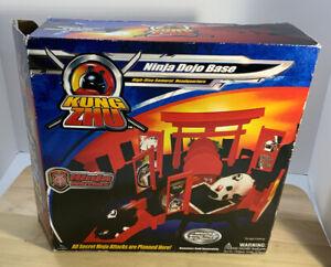 Kung Zhu Ninja Dojo Base Warriors Model 88410 Preowned NO ZHU ZHU PET
