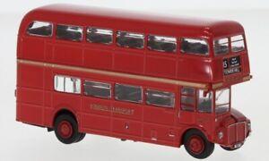 Brekina 61100 61101 Autobus AEC Routemaster doppio piano Bus tipico Londra 1960