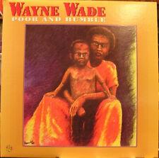 Wayne Wade - Poor And Humble LP - Roots Reggae Vinyl Album - NEW Record