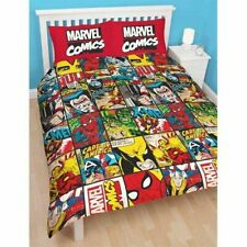 Disney Marvel Comics Defenders Double Rotary Duvet Set