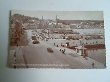 ISLE OF BUTE ROTHESAY Victoria Street+Winter Gardens Vintage Phototype PC §A2779