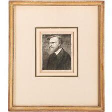 EDGAR DEGAS (1834-1917) BUSTE DE MANET C. 1864