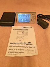 Portable Digital FineDrive 350 Gps Receiver & Automotive Navigation Device