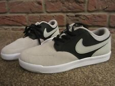 cb13d2ed2a610 NEW UK 5 Mens NIKE Trainers Suede Beige Black Lace Up Teenage Boys Casual