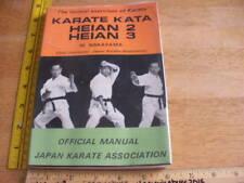 Karate Kata Heian 2 3 M. Nakayama book 1970 1st printing martial arts fighting