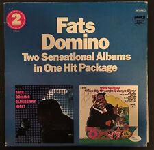 Fats Domino (Deceased) SIGNED JSA COA Vinyl LP Record AUTOGRAPHED RARE