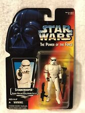 1995 Star Wars POTF Stormtrooper Blaster Rifle and Heavy Infantry Cannon! Sealed