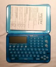 Vintage Spectra 32k Electronic Phone & Email Book Epb-320T-Bl