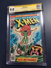 X-Men # 101 CGC 9.0 1st Phoenix ss Stan Lee, key 100,134 Claremont, Uncanny sign
