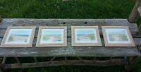 BARBARA FLERI Coast Line Prints - set of four