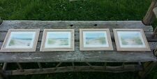 BARBARA FLERI Coast Line Prints - set of four