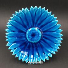 Assiette Fleur Signée Alain Maunier Vallauris Vintage French Design Ceramic