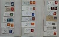 Netherlands 1950's onwards small collection of slogan postmarks with Stamps