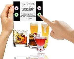Test su Bebida. Pruebe su trago. Test GHB y Ketamina. Evite drogas en su bebida.