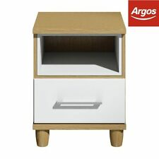 Oak 51cm-55cm Height Bedside Tables & Cabinets with 1 Drawer