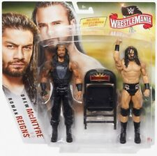 WWE Mattel Roman Reigns / Drew McIntyre Wrestlemania 36 Battle Pack Figures