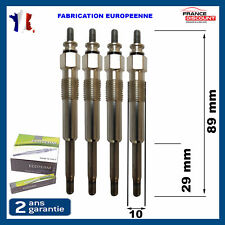 4 Bougie de préchauffage gn912 gn016 0250202020 1,5 D diesel TUD5 1,9 D DW8 DW8B