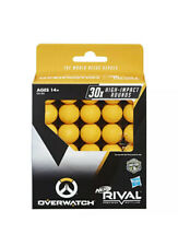 NERF Rival Overwatch Balls 30x High Impact Rounds Refill Pack Orange