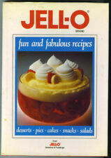 Jell-O Brand : Fun and Fabulous Recipes hardcopy with dustjacket 1988