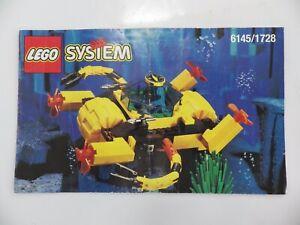 Instrucciones lego System Manuales de Instrucciones Ajuste Ref: 6145/1728