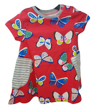 Ex Mini Boden Hotchpotch Tunic Dress in Butterfly Design 2 - 12 yrs NEW