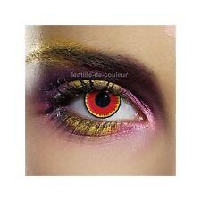 Lentilles de couleur fantaisie festive vampire - fancy color lenses