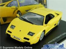 LAMBORGHINI DIABLO VT MODEL CAR 1:43 SCALE YELLOW IXO SUPER 2000 SPORTS K8