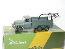 militaire armée francaise kaki Camion berliet GBC KT dépannage lot 7 SOLIDO
