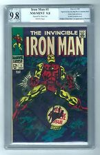 The Invincible IRON MAN #1 (1968) PGX SS 9.8 NM/MINT - Stan Lee Signed! Origin!