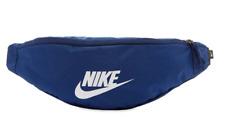 Nike Sportswear Adjustable Heritage Hip Waist Fanny Pack Bag Blue Void